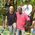 Mon collègue prestataire guide (Daoud) et moi (Hassani)  !